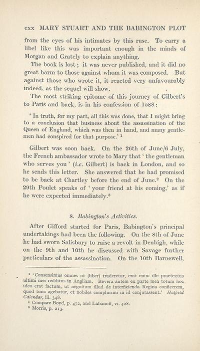 the babington plot