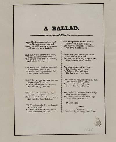 (6) Ballad