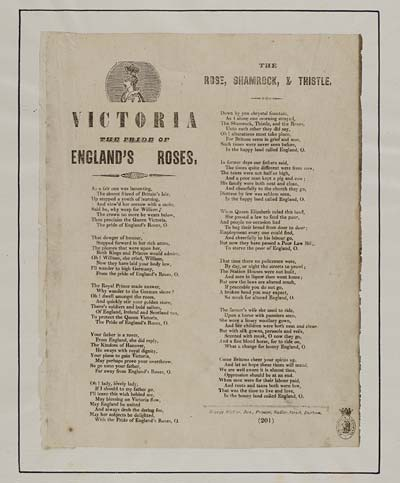 (11) Victoria the pride of England's roses