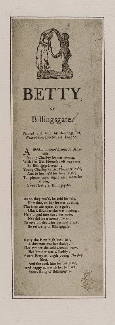 (23) Betty of Billingsgate