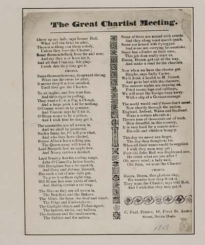 (29) Great chartist meeting