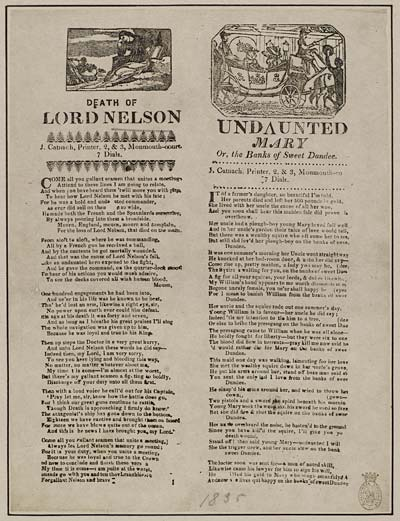 (17) Death of Lord Nelson