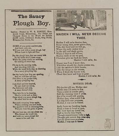 (22) Saucy plough boy