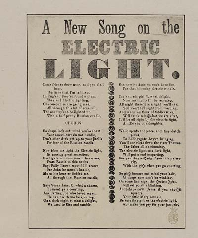 (2) New song on the electric light