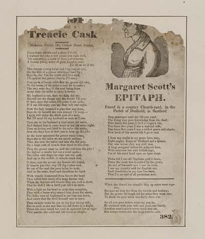 (39) Tailor and the treacle cask