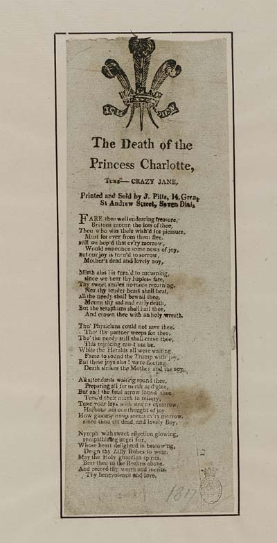 (38) Death of Princess Charlotte