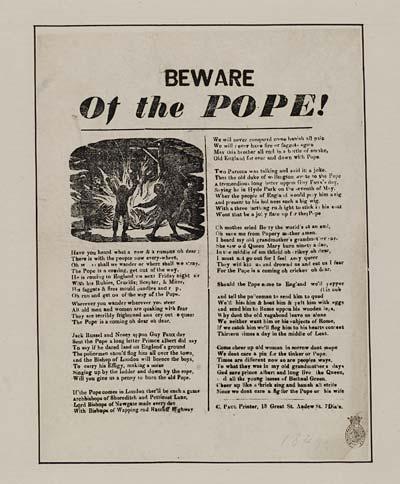 (24) Beware of the Pope