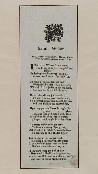 (34) Sarah Wilson