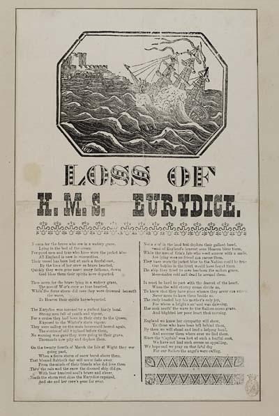 (20) Loss of H M S Eurydice