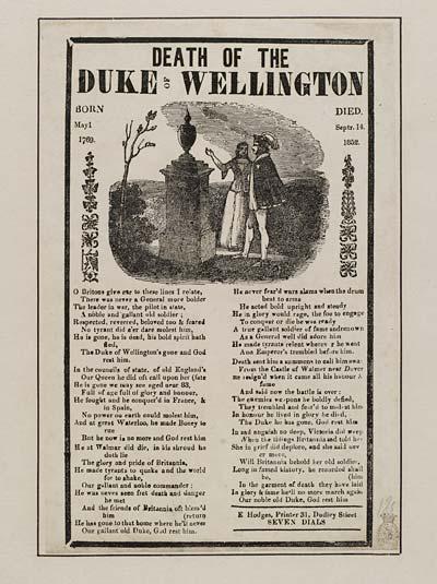 (40) Death of the Duke of Wellington
