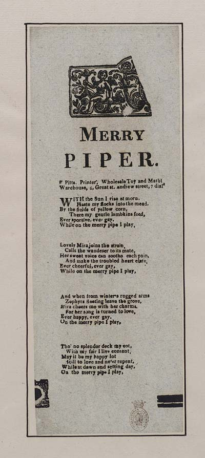 (22) Merry piper