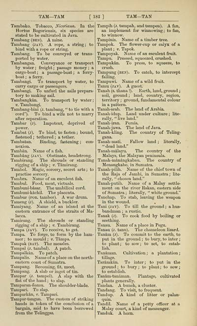 192) - J  F  Campbell Collection > Grammar and dictionary of