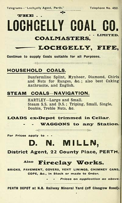 516) - Scottish Post Office Directories > Towns > Perth > 1885-1912