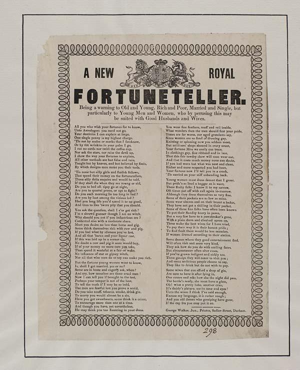 (3) New royal fortuneteller