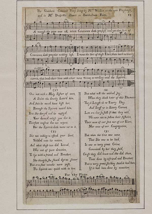(4) Quakers comicall song