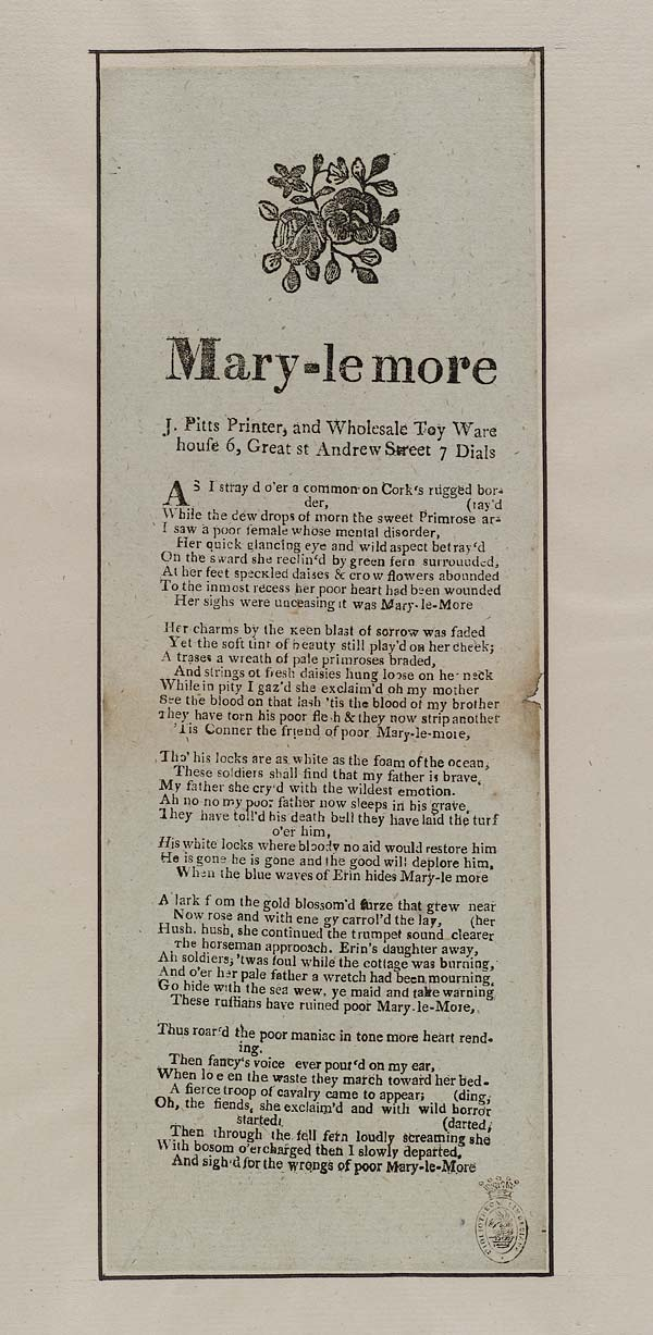 (10) Mary-le More