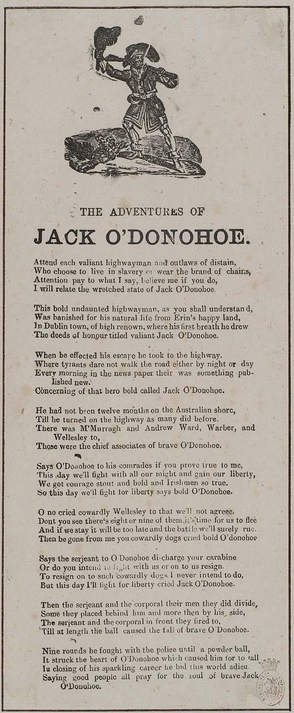 (17) Adventures of Jack O'Donohoe