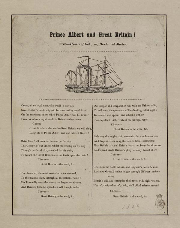 (10) Prince Albert and the Great Britain