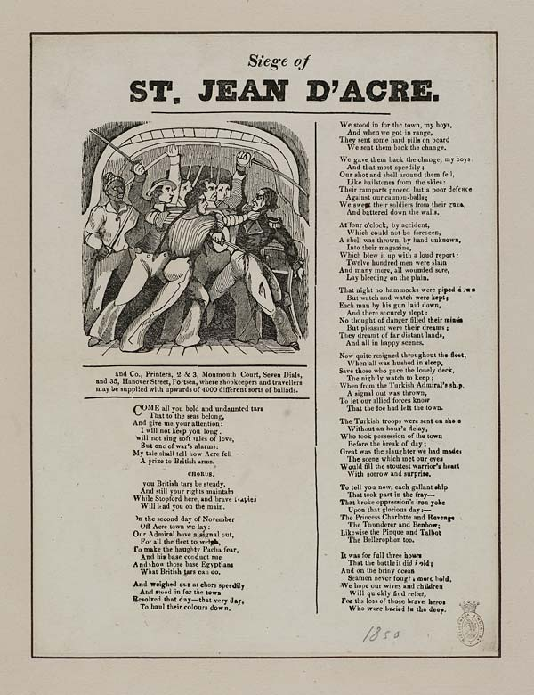 (3) Siege of St Jean d'Acre
