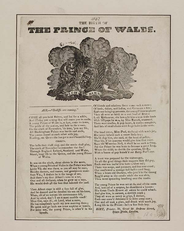 (26) Birth of the Prince of Wales