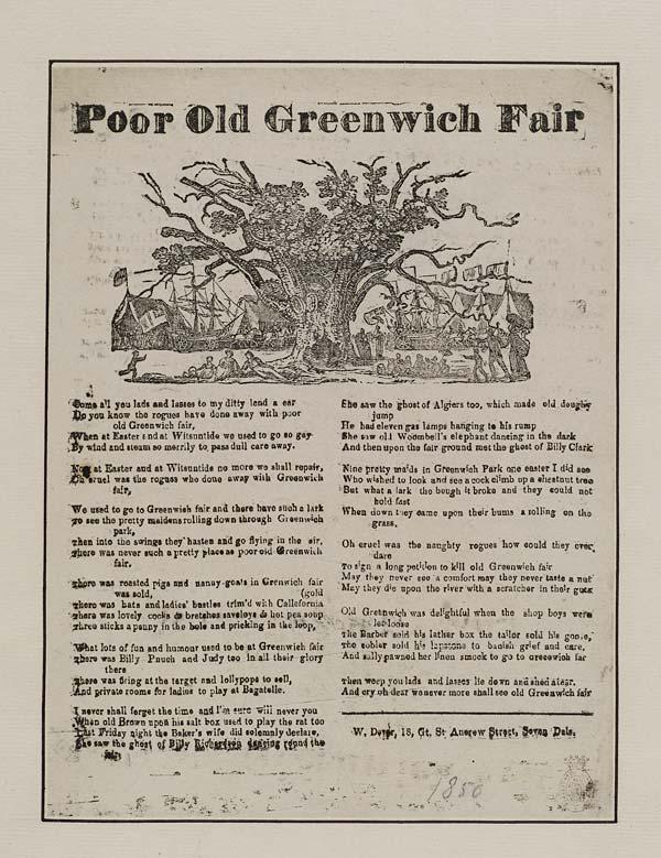 (21) Poor old Greenwich fair