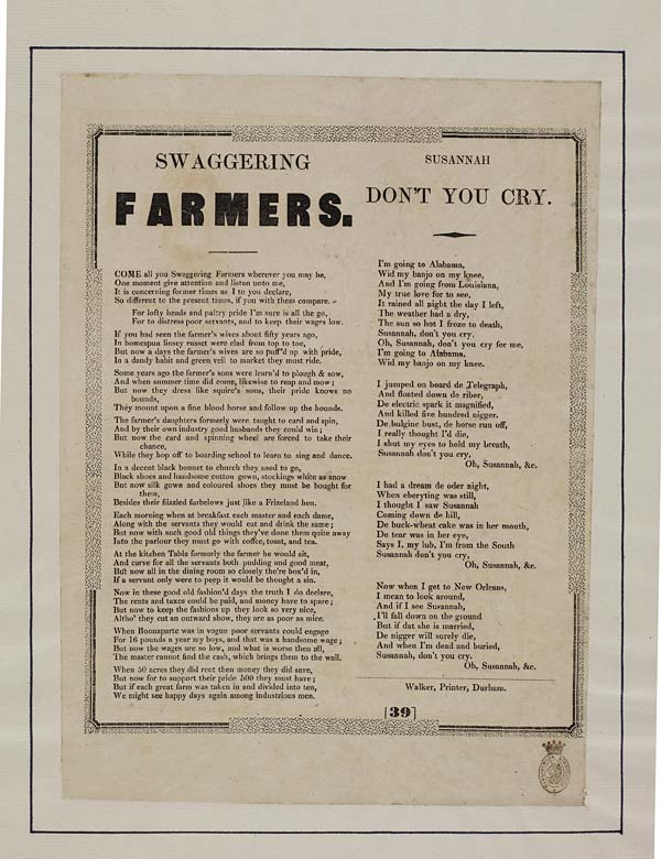 (23) Swaggering farmers