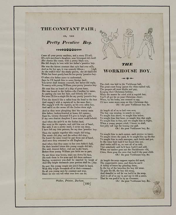 (37) Constant pair; or, the pretty prentice boy