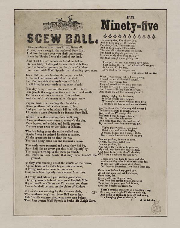 (28) Scew ball