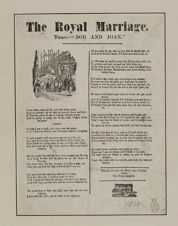 (35) Royal marriage