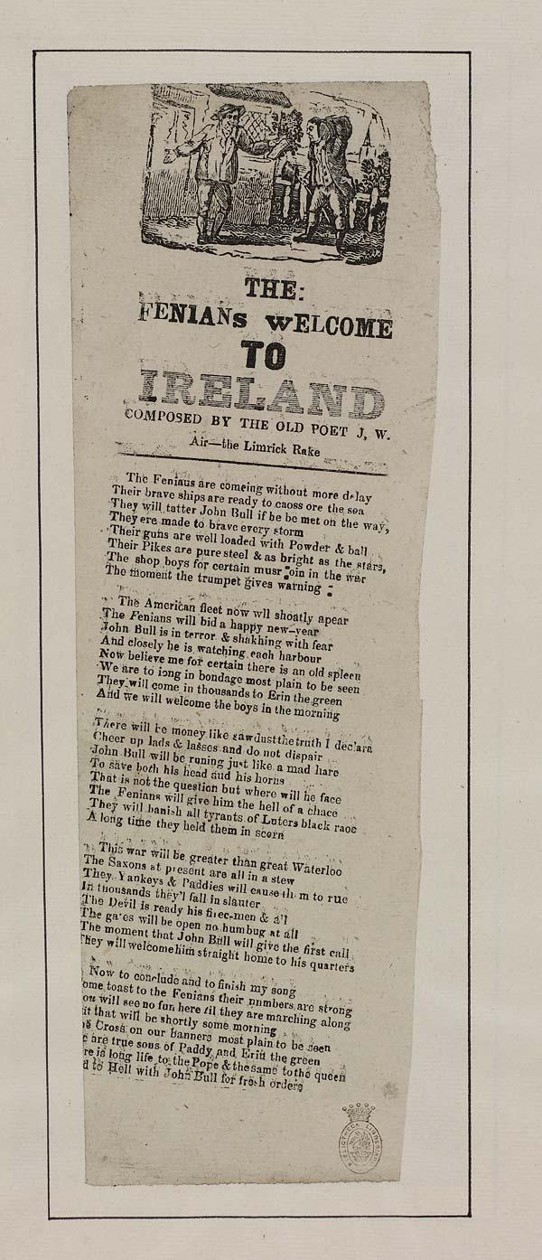 (40) Fenians welcome to Ireland