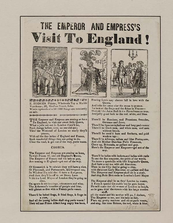(26) Emperor and Empress's visit to England
