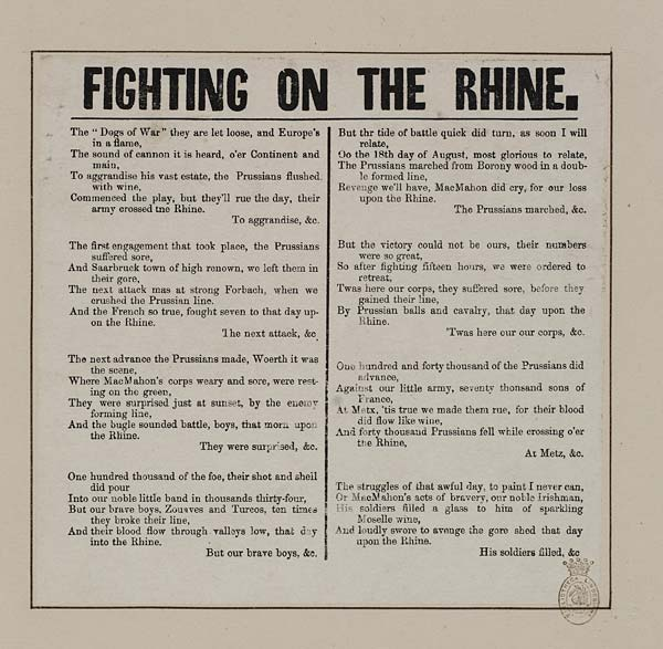 (9) Fighting on the Rhine
