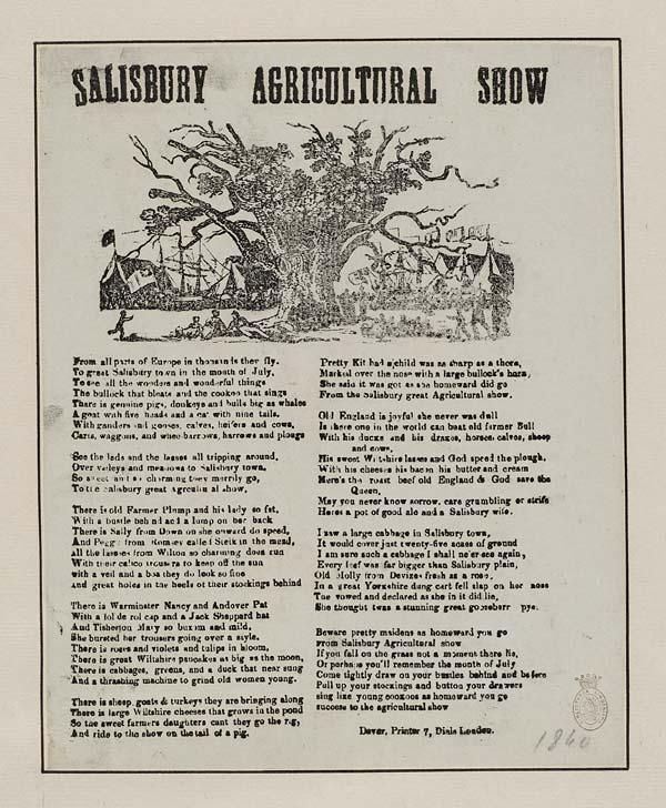 (37) Salisbury agricultural show