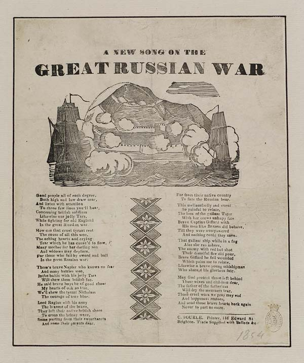 (32) New song on the great Russian war