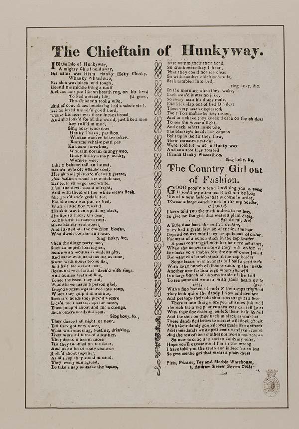 (10) Chieftain of Hunkyway