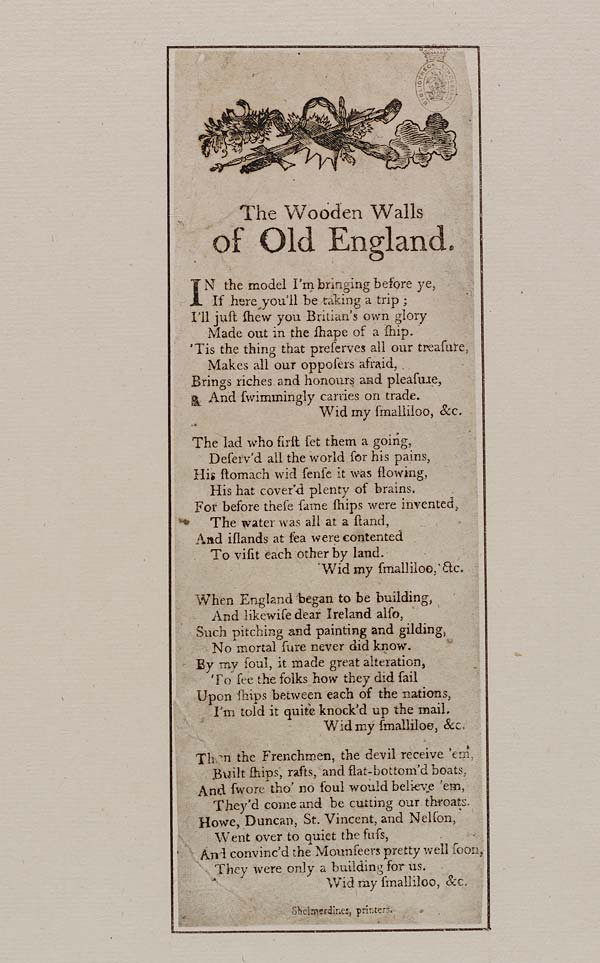 (26) Wooden walls of old England