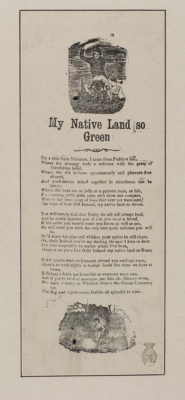 (29) My native land so green