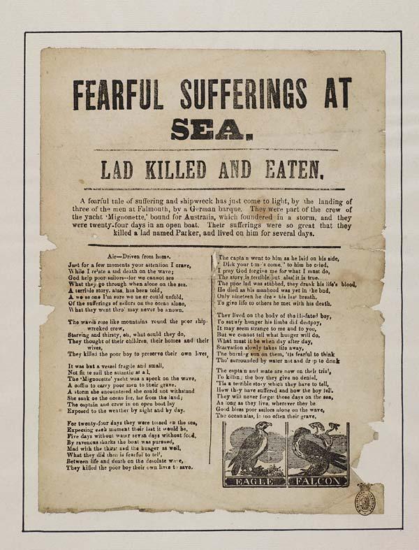 (17) Fearful sufferings at sea