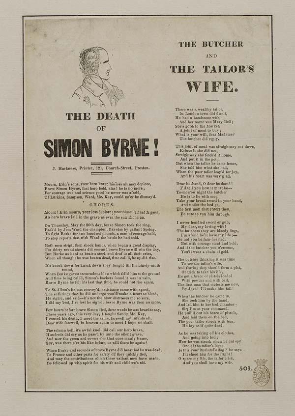(11) Death of Simon Byrne