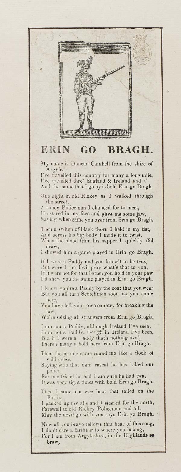 (11) Erin go bragh