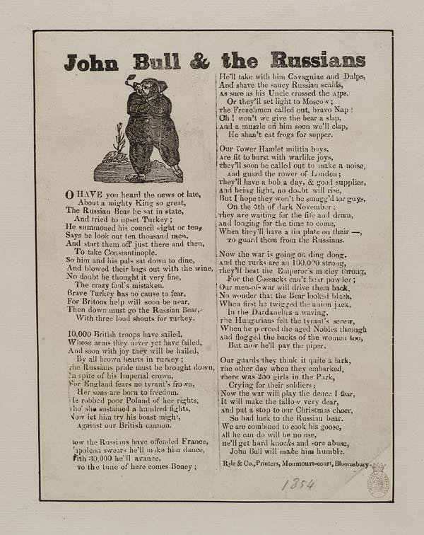 (39) John Bull & the Russians
