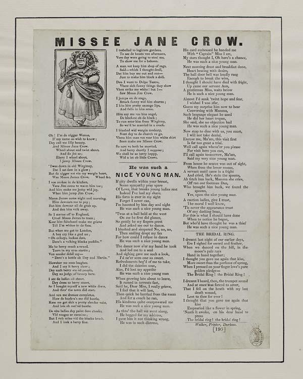(12) Missee Jane Crow