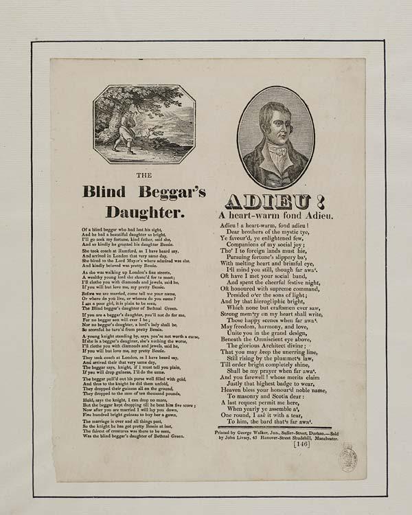 (43) Blind beggar's daughter