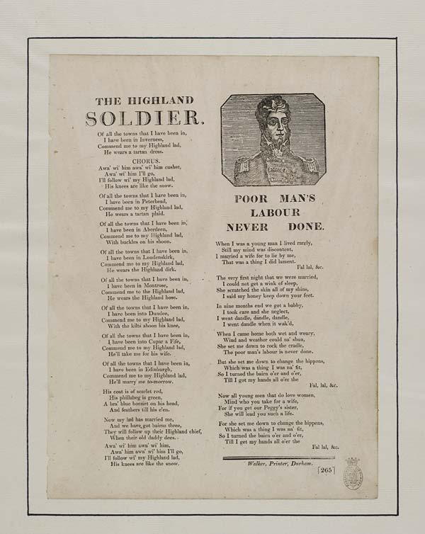 (19) Highland soldier