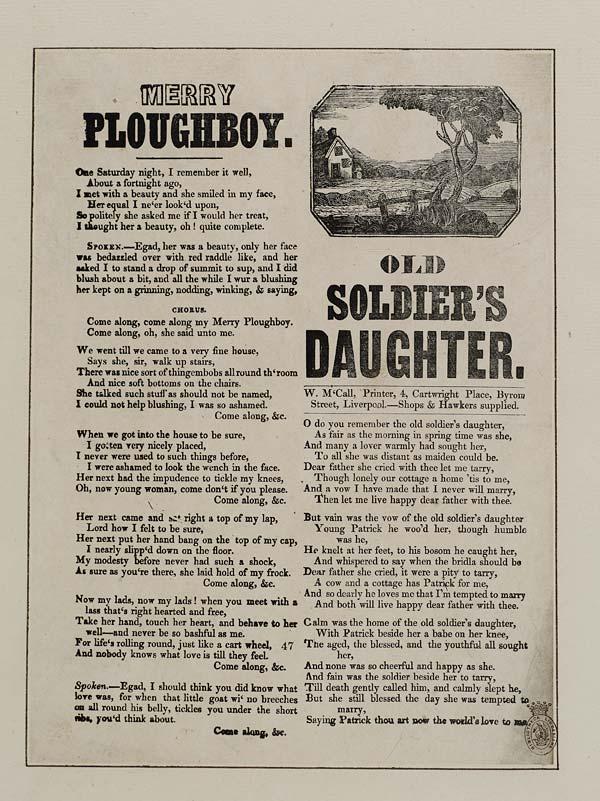 (42) Merry ploughboy
