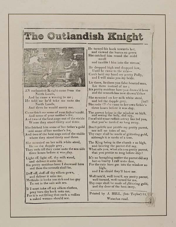 (15) Outlandish knight