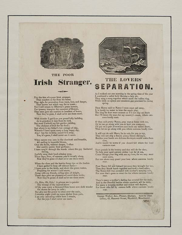 (16) Poor Irish stranger