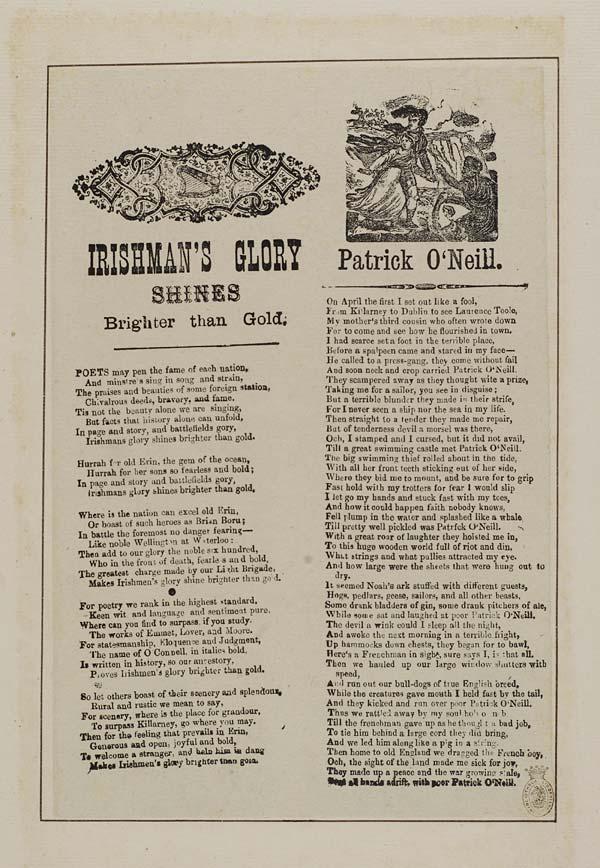 (42) Irishman's glory shines brighter than gold