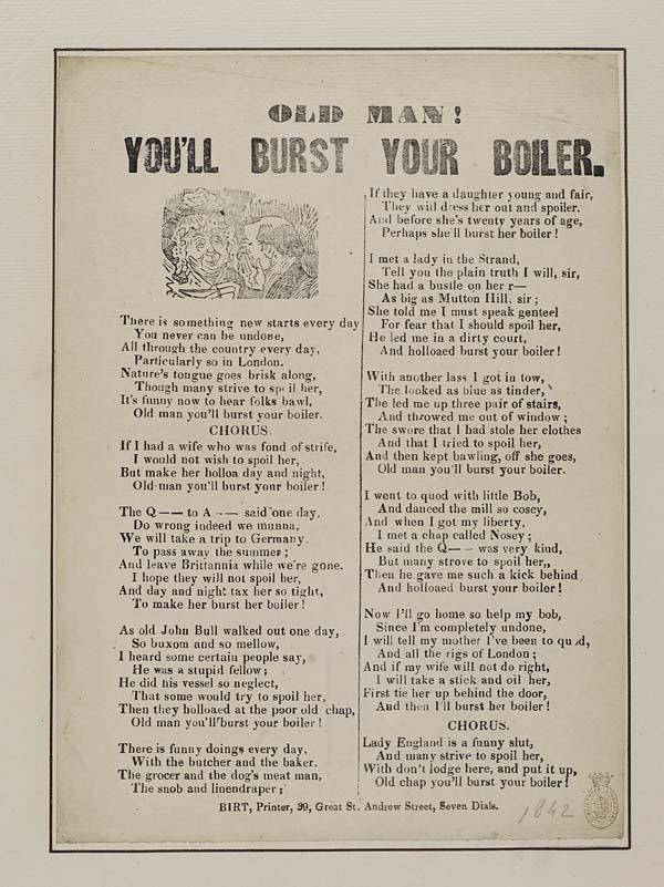 (11) Old man! You'll burst your boiler
