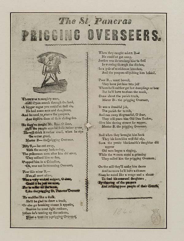 (12) St Pancras prigging overseers